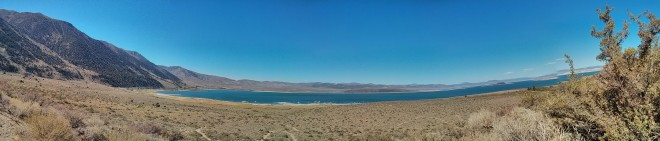 A panorama of Mono Lake